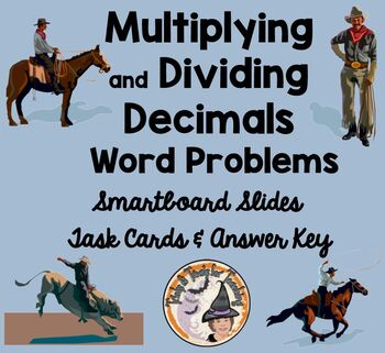 Multiply and Divide Decimals Applications Word Problems Sm