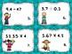 Multiply and Divide Decimals Task Cards