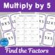Multiply by 5 Scavenger Hunts