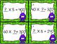 Multiply by Multiples of Ten - Missing Factors