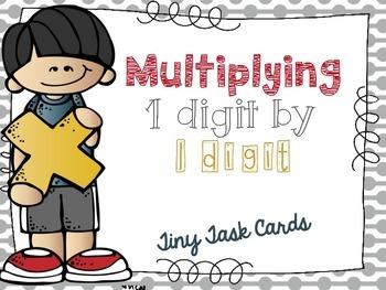 Multiplying 1 Digit by 1 Digit