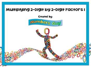 Multiplying 2-Digit By 2-Digit Factors 1 (Part of Multipli