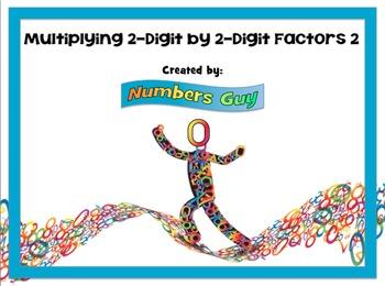 Multiplying 2-Digit By 2-Digit Factors 2 (Part of Multipli