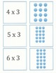 Multiplying By Three Math Activity Cards