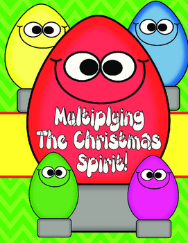 Multiplying Christmas- 2 digit by 2 digit Multiplication Q