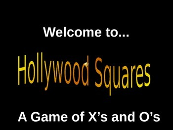 Multiplying Decimals Hollywood Squares Game