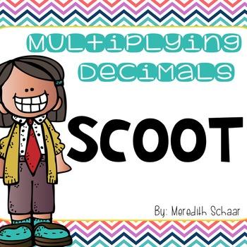 Multiplying Decimals Scoot