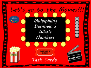 Multiplying Decimals by Whole Numbers with Movies!