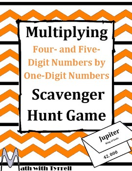 Multiplying Four- & Five-Digit Numbers by One-Digit Number