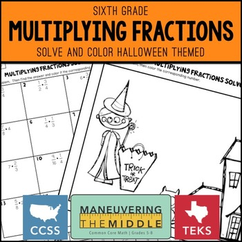 Halloween Math for Middle School