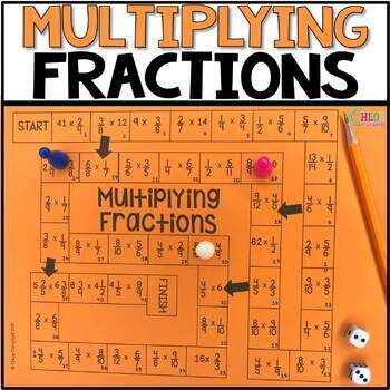 Multiplying Fractions Board Game