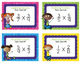 Fraction Task Cards - Multiplying Fractions - SCOOT