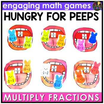 Multiplying Fractions by Fractions Game