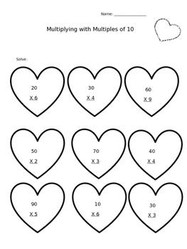 Multiplying Multiples of !0