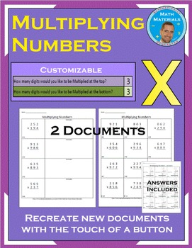Multiplying Numbers: Customize the Number of Digits - Auto