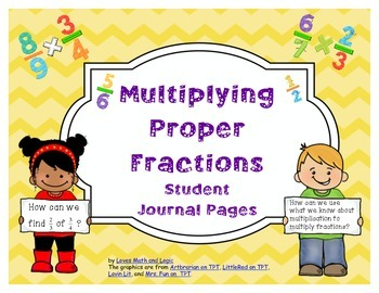 Multiplying Proper Fractions_Student Journal Pages _ CCSS.