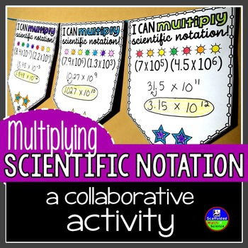 Multiplying Scientific Notation Pennant