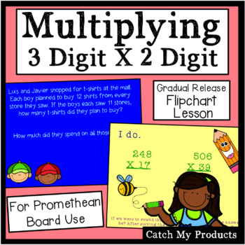 Multiplying Three Digit Numbers by Two Digit Numbers for P