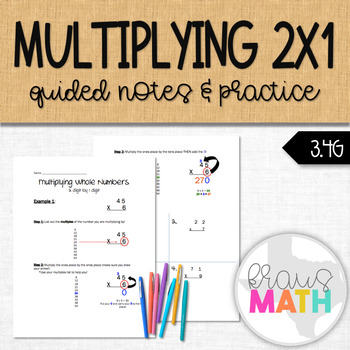 Multiplying Whole Numbers Notes
