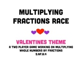 Multiplying With Fractions Race