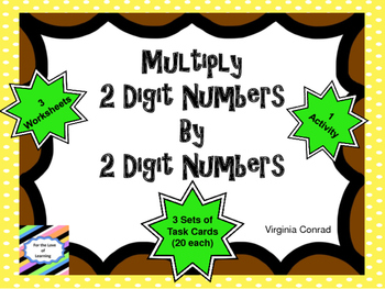 Multiplying a Two Digit Number by a Two Digit Number
