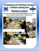 Multiplying and Dividing Fractions Problem Solving Sort