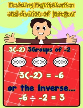Multiplying and Dividing Integers with Models