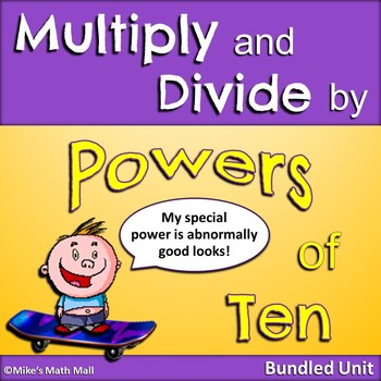 Multiplying and Dividing by Powers of 10 (Mini-Bundle)