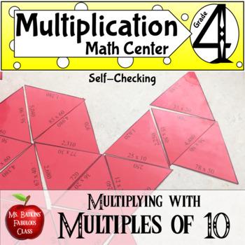 Multiplication : Multiplying with Multiples of Ten Math Center