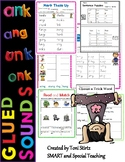 Decodable Ending Blends (Glued Unit Sounds)-ng -nk Activities