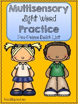 Multisensory Sight Word Practice