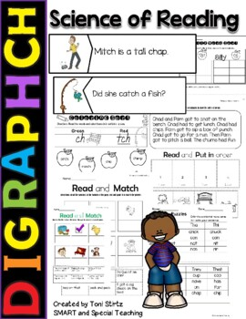 Multisensory practice pack for diagraph ch