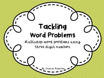 Multistep Word Problems using Three Digit Numbers