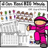CVCCVC  multisyllabic word reading