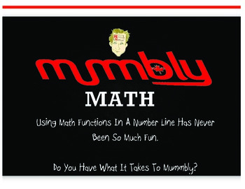 Mummbly Math - Add, Subtract, Multiply, Divide- Scream Mum
