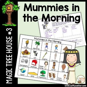 Magic Tree House - Mummies in the Morning #3