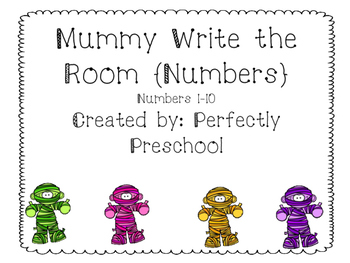 Mummy Write the Room-Numbers