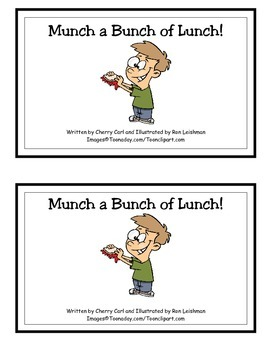 Munch a Bunch of Lunch! Guided Reader (-unch word family)