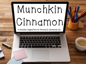 Munchkin Cinnamon: A FREE font for personal & commercial use