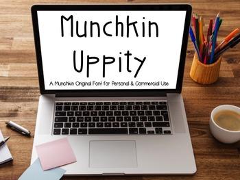 Munchkin Uppity: A Munchkin Original Font for Personal & C