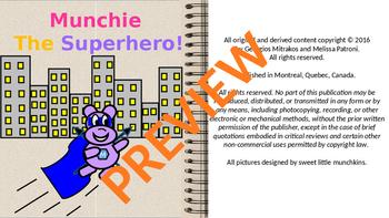 Munchkin the superhero