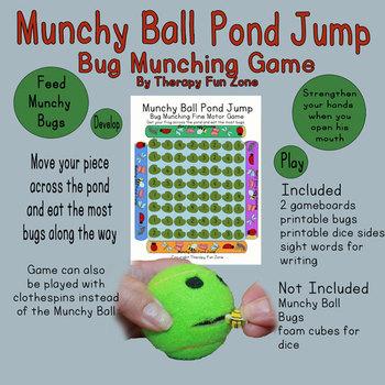 Munchy Ball Pond Jump Game