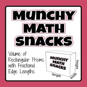 Munchy Math Snacks - Volume of Rectangular Prisms - Fracti