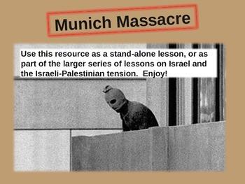 Munich Massacre (1972 Olympics) - engaging 23-slide PPT w