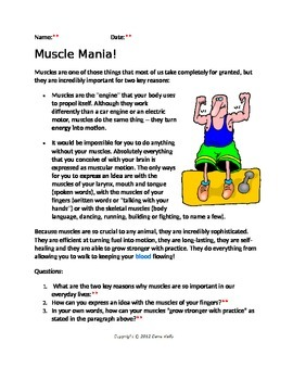 Muscle Mania! with KEY