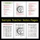 Muscular System Bundle PowerPoint and Notes - Anatomy & Ph