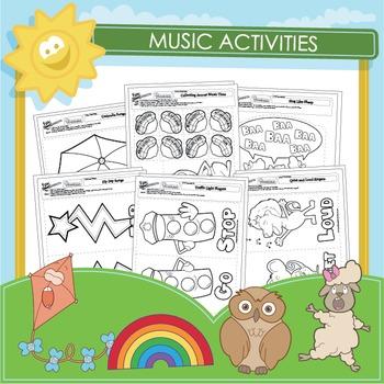Music Activities - 9 Pack