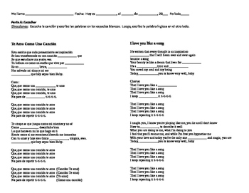Music Activities - Kevin Karla y La Banda/Te Amo como una Canción