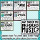 Music Across the Curriculum Posters- Colorful Brights