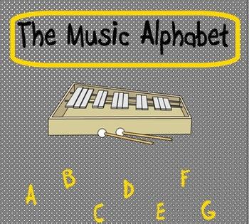 Music Alphabet/Orff Instrument Lesson